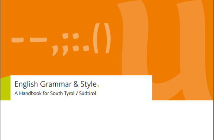 English Style Guide